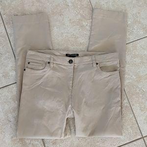 Zac & Rachel khaki nylon/spandex pants